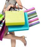 shoppende weduwe